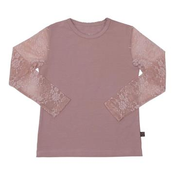 Little Wonders - Bluse m/ Blonde ærmer - Rosa