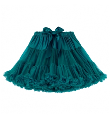 Angels face - Tutu Tyl Skirt - 1/3 år - Emerald Green