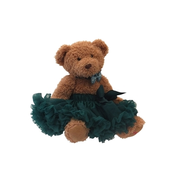 Angels Face - Bamse/ Newborn 56/62 - Tutu Skirt - Emerald Green