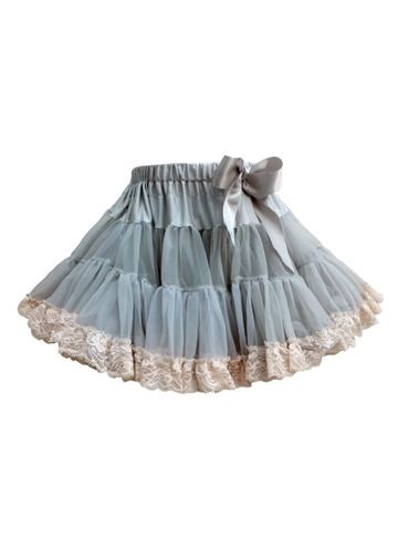 Angels face - Tutu Tyl Skirt - Baby 3-4 år - Mist Lace
