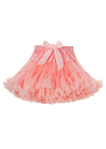 Angels face - Tutu Tyl Skirt - 3/4 år - Rose Pink